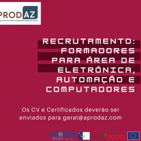 Recrutamento formador na área EAC
