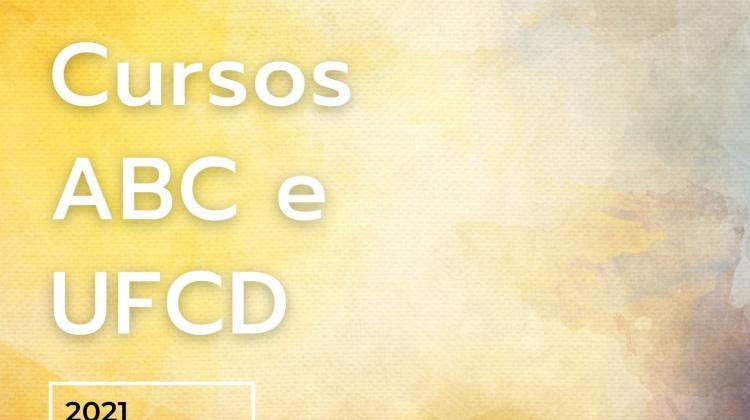 Cursos ABC e nova UFCD